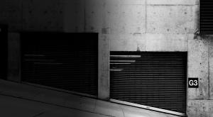 Street view of garage