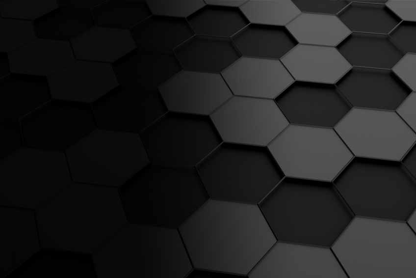 Hexagon art