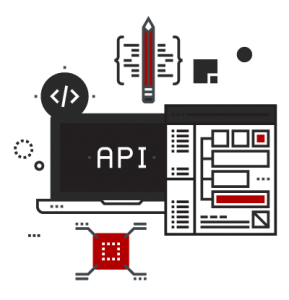 api graphic design icon