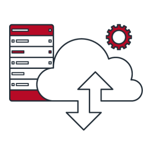 cloud computing solution icon