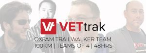 VETtrak OxFam Trailwalker Team